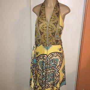Halter Dress.